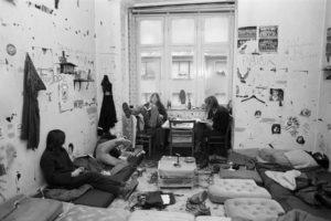 Hausbesetzung, Deutschland, Widerstand, Demonstration, Revolte, alternativ