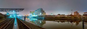 Fluss, Heimat, Rhein, Industrie, Natur, Hafen