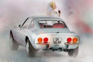 Auto-Kalender, Auto, Oldtimer,Kunst, Kultur, Werbung