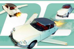 Auto-Kalender, Oldtimer, historisch, Film Autos,