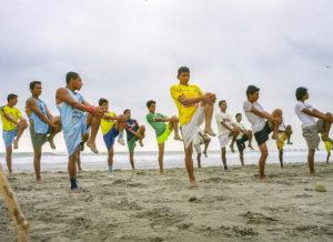 Fussball Spieler, Bolzplatz, Training, Indios Anden