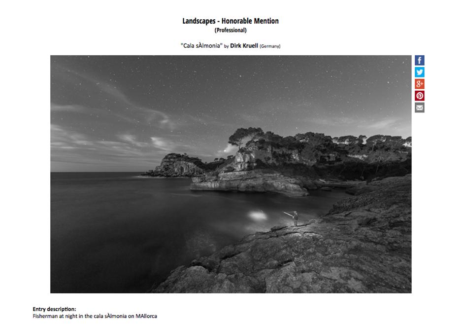 "Monochrome Award 2016, SW Fotografie, ""Landscape und Architecture"